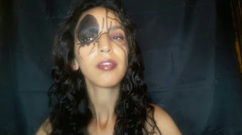 Makeup Spider girl/ colaboracion/LILA MARMOLEJO