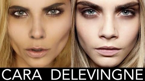 Maquillaje inspirado en CARA DELEVINGNE