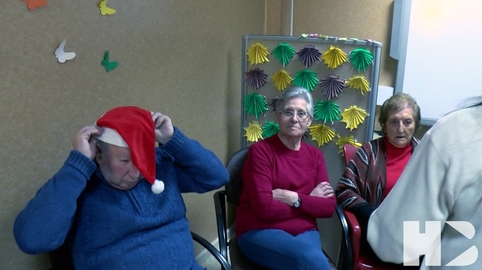 Navidad centro  de Alzheimer  Algeciras #CanalSur