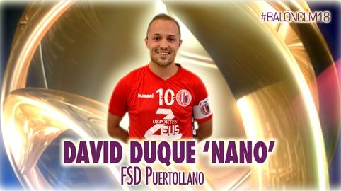 David Duque 'Nano' - Fútbol Sala Deportivo Puertollano