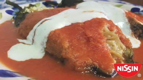 #NissinSOS Chiles Rellenos Nissin