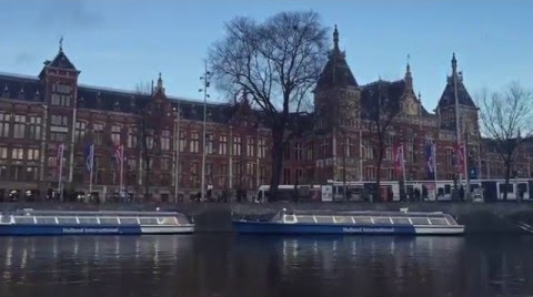 AMSTERDAM WITH FRIENDS