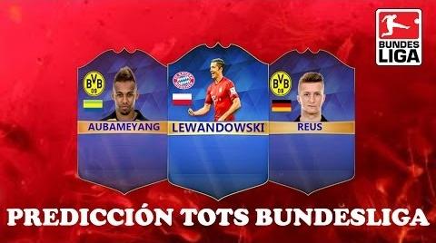PREDICCIÓN TOTS BUNDESLIGA | FIFA 16 | Ismaron10