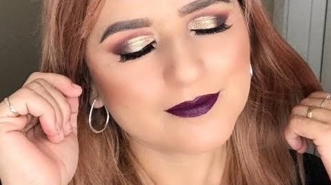 Maquillaje de ojos para párpados caídos ##FashionTip