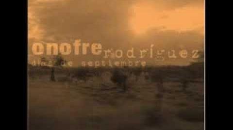 Onofre Rodríguez. Ciego