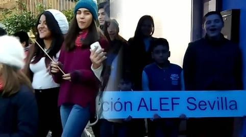 NAVIDAD EN ASOCIACIÓN ALEF SEVILLA