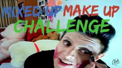 MIXED UP MAKEUP CHALLENGE - Charlie Islas