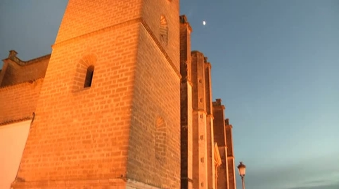 Felicitando la Navidad desde OSUNA (Sevilla), en CANAL SUR.