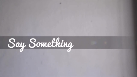 Say Something Cover-Español