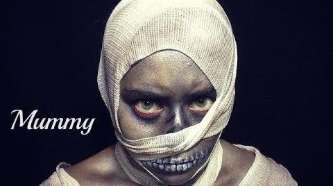 MUMMY|HALLOWEEN MAKEUP|MOMIA|YADIRA OLAN #HalloweenHitsbook