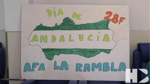 HIMNO DE ANDALUCIA A.F.A. LA RAMBLA #28f