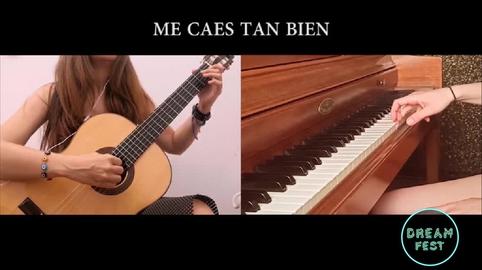 """""""Me caes tan bien"""" - Dúo Guitarra y Piano #chenoachallenge360"""