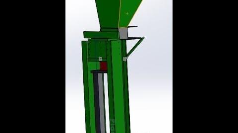 Máquina de bloques ecologicos