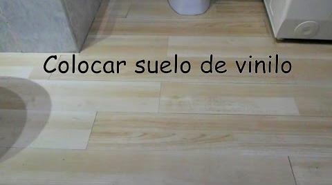 Como instalar suelo vinilico / How to install vinyl flooring   Hitsbook