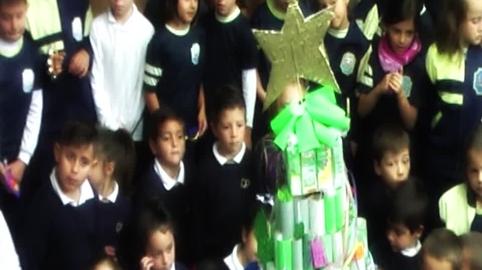 Colegio Diocesano Sagrado Corazón de Jesús Huelva, mi vídeo en la campaña Yo también canté el villancico de Canal Sur
