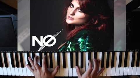 Meghan Trainor  No - Cover piano - MrBerro13