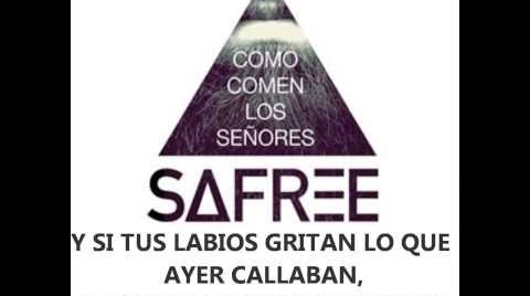 Safree - Como comen los señores [Lyric Video]