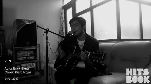 Ven - Piero Rojas (cover) #HitsbookMúsica