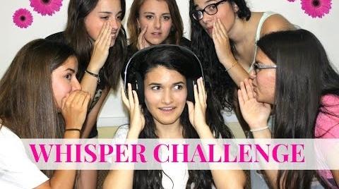 EL RETO DEL SUSURRO (Whisper challenge)