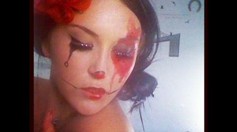 Maquillaje Halloween AHS Freak show