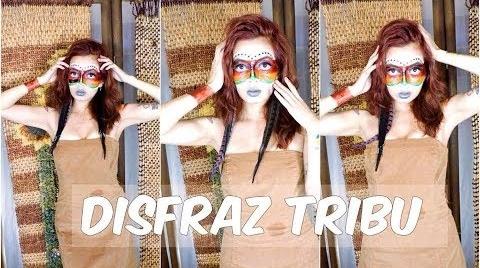 DIY Maquillaje para rostro + Disfraz Tribu #HalloweenHitsbook