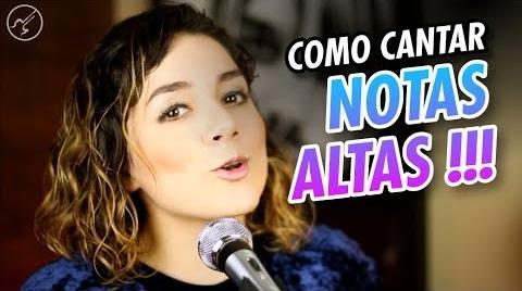 """Como Cantar NOTAS ALTAS """"AGUDOS"""" con Potencia   CLASES DE CANTO   Christianvib #EstrellasDigitales2019"""