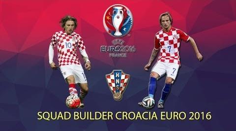 SQUAD BUILDER CROACIA EURO 2016 | FIFA 16 | Ismaron10