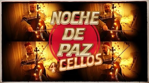 Noche de Paz - 4 CELLOS - Silent Night | Partitura + Acompañamientos