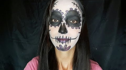 Maquillaje facil de catrina /LILA MARMOLEJO