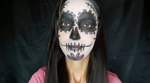 Maquillaje facil de catrina /LILA MARMOLEJO