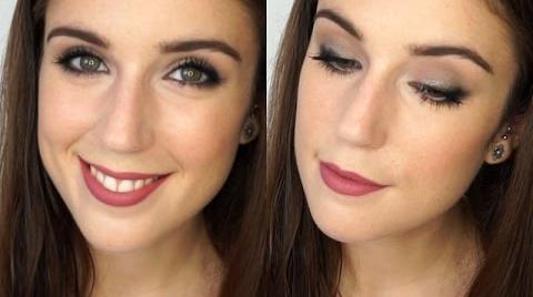 Maquillaje   De diario en 5 minutos ⚪ Delineado difuminado #HitsbookModaBelleza