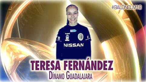 Teresa Fernández - Dínamo de Guadalajara