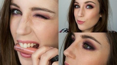 Maquillaje ahumado MORADO | Mimesis: NablaCosmetics