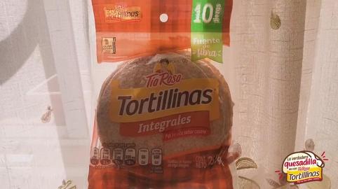 Mi quesadilla favorita es con tortillinas integrales #LaVerdaderaQuesadilla