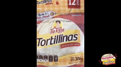 La verdadera quesadilla es con Tortillina #LaVerdaderaQuesadilla