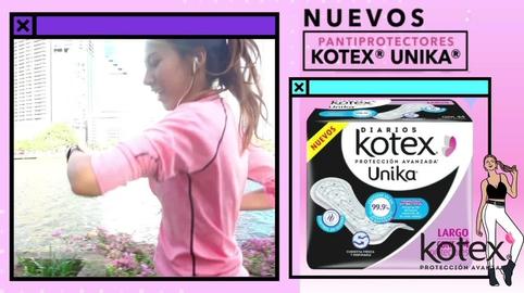 Siéntete segura con los pantiprotectores Kotex Unika #HablemosDeSaludVaginal
