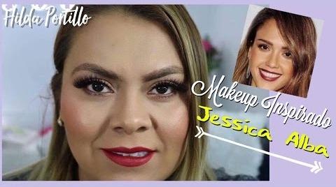 Maquillaje Inspirado en Jessica Alba | Hilda Portillo #Instyle Makeup