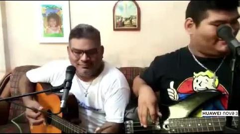 Canto a dueto con mi padre