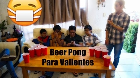 Beer Pong para Valientes | ¿DeQueTeRíes?