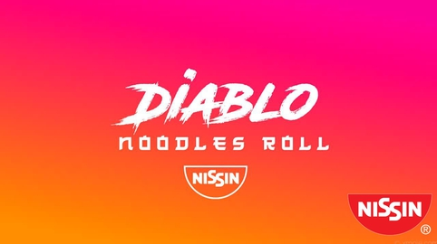 Diablo Noodles Roll #NissinSOS