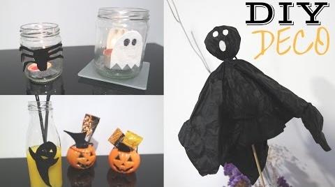 DIY: decoración fácil para HALLOWEEN #HalloweenHitsbook