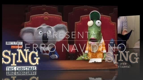 sing navidad perruna #RetoSingRafaMarquez