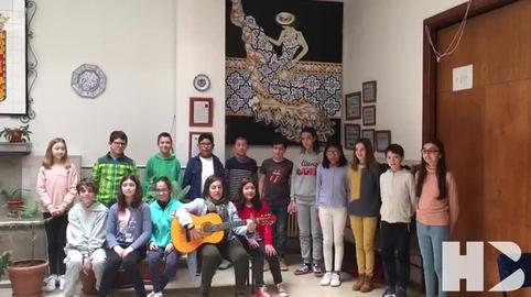 Himno Andalucia lengua de signos. Colegio San Jose Granada #28f