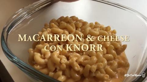 Mac Carreon & Cheese #YoCociKnorr