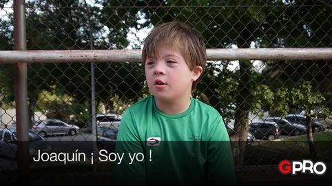 Joaquín #Soy muy Pro #GeneraciónPro