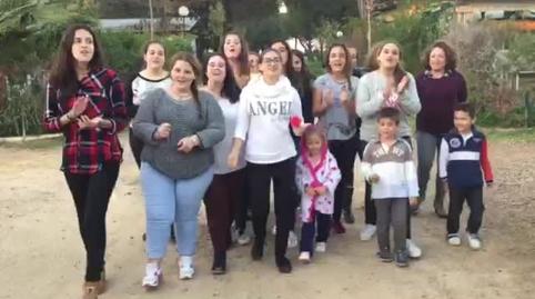 noeliia_om, mi vídeo en la campaña Yo también canté el villancico de Canal Sur