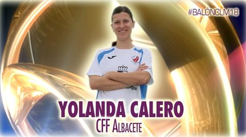 Yoli Calero - Club de Fútbol Femenino Albacete