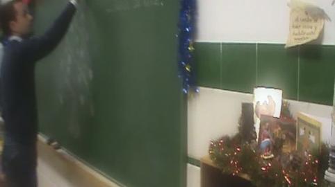 Navidad desde el Colegio Diocesano en Huelva