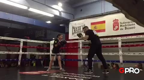 Cintia Sánchez, una pequeña gran boxeadora #GeneraciónPro