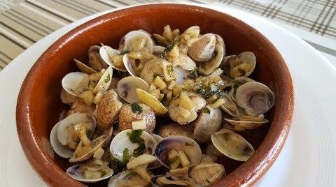Tapa de Almejas al ajillo -Rico Rico y facil | Cocina con Rock #RecetasParaDummies